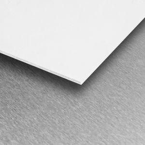 Brilliant White Satin PVC Wall Cladding Sheet