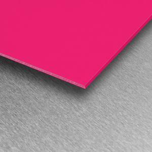 Fuchsia Gloss PVC Wall Cladding Sheet