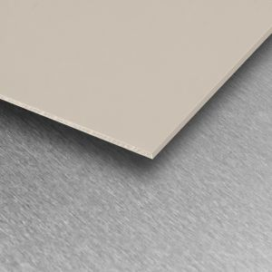 Ivory Satin PVC Wall Cladding Sheet