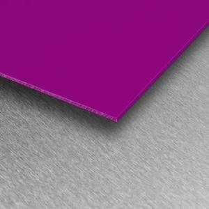 Plum Gloss PVC Wall Cladding Sheet