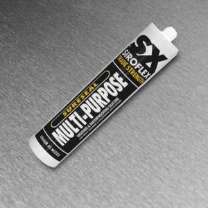 Silicone - Sureseal Multi-Purpose Black 300ml