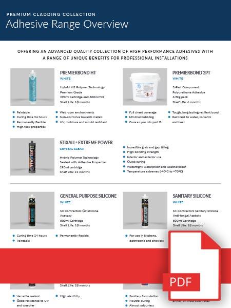 Adhesive Range Overview
